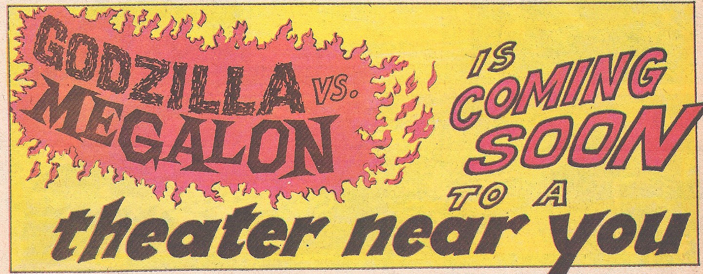 Comics Corner: Godzilla vs. Megalon 1976