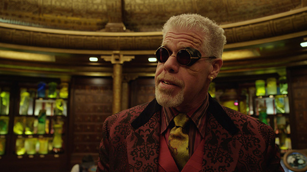 "RON PERLMAN as Hannibal Chau in the sci-fi action adventure ""Warner Bros. Pictures and Legendary Pictures movie PACIFIC RIM,"" a Warner Bros. Pictures release. Photo Credit: COURTESY OF WARNER BROS. PICTURES"