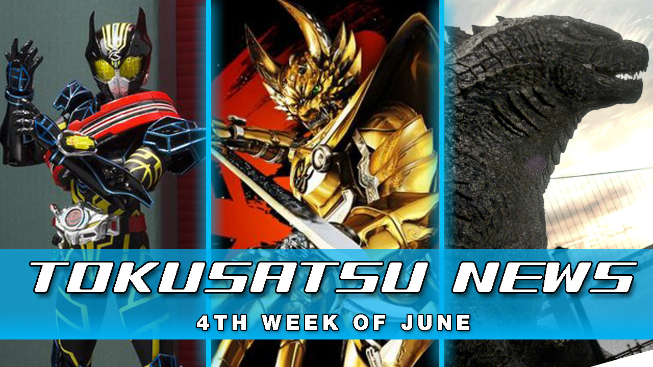 GARO Blu-Ray and Stream + Godzilla 2 Begins Filming + Drive Type Special – Weekly News Roundup