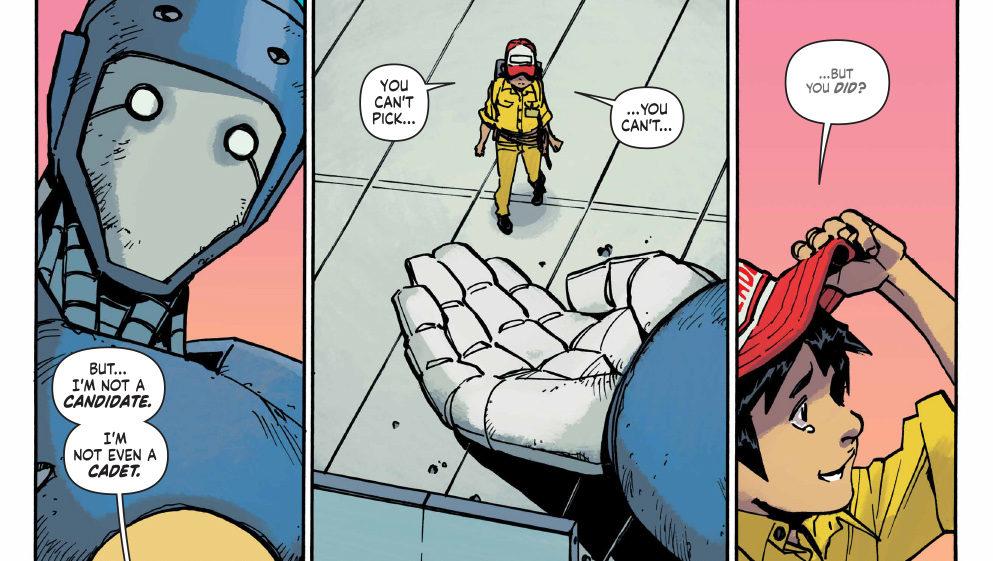 Comics Corner: Mech Cadet Yu #1