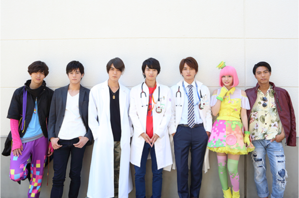 Kamen Rider Ex-Aid Cast Gather for Roundtable Interview