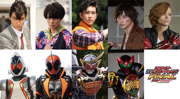 Kamen Rider Alums Express Excitement Returning to Their Roles in Heisei Generations: FINAL