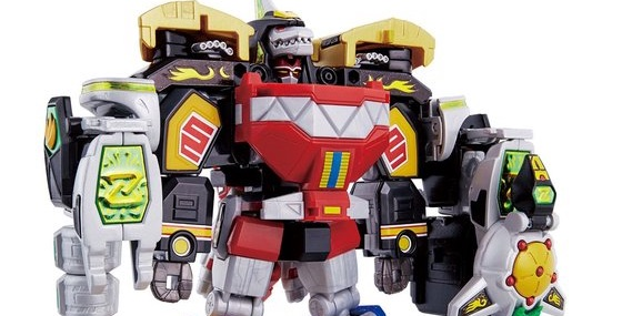 Super Mini-Pla Megazord and Dragonzord To Be Released By Bluefin