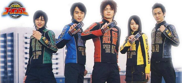 Engine Sentai Go-Onger Blu-Ray Box Sets Announced