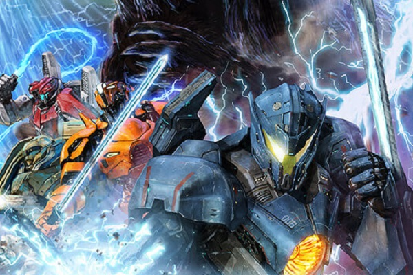 Godzilla / Pacific Rim Collaboration Art Unveiled