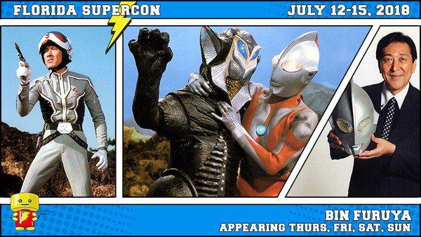 Bin Furuya and Tsutomu Kitagawa to Guest at Florida Supercon