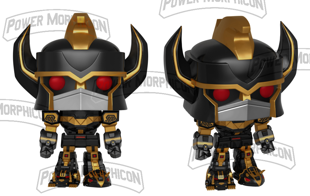 Power Morphicon Convention Exclusive Black And Gold Funko Pop Megazord Revealed