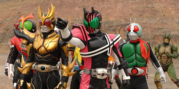 Toei Channel to Air Entire Heisei Kamen Rider Franchise