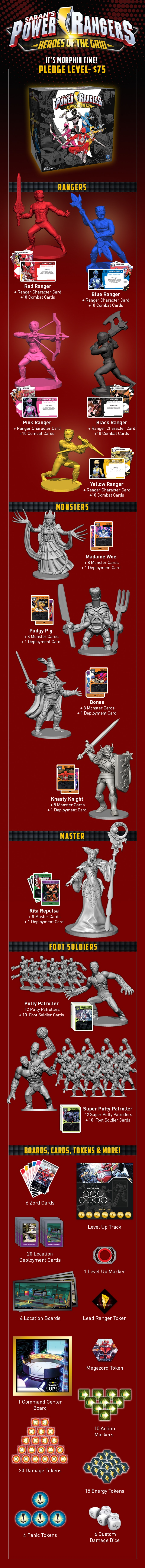 Power Rangers_Heroes of the Grid_kickstarter goals_base set (2)