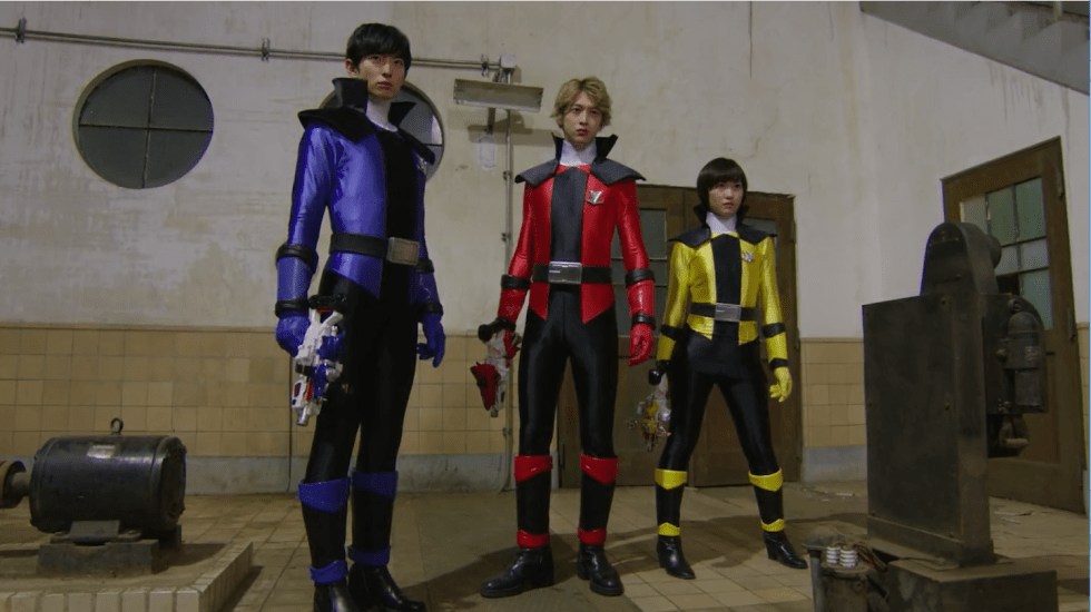 LupinRangers no helmets