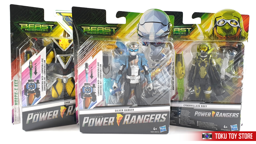 Various Power Rangers Beast Morphers figures have now been restocked. Click here for Beast Morphers!