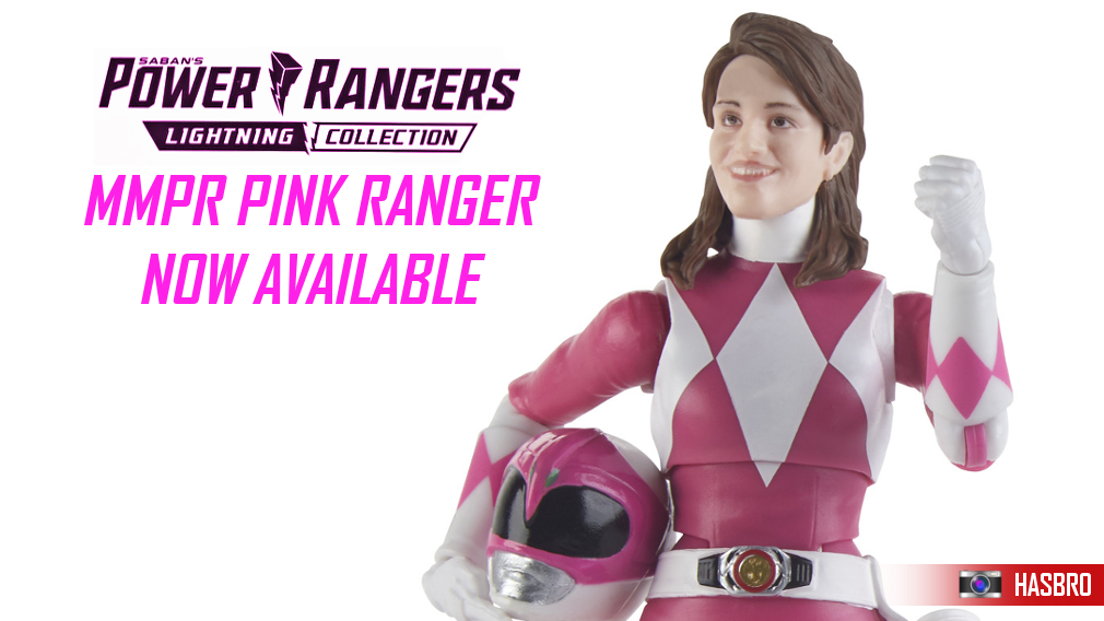 The latest in the Lightning Collection is now available at Toku Toy Store, including Kimberly, the Pink Ranger. Click here for details!
