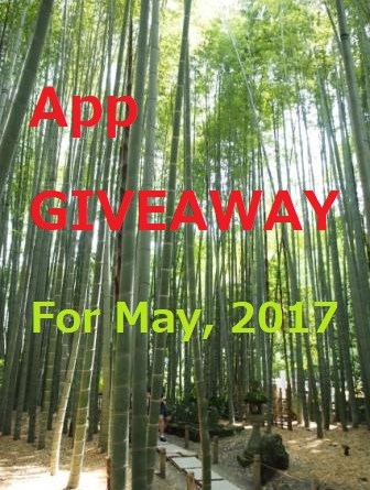 Article app giveaway of Kamakura, Japan