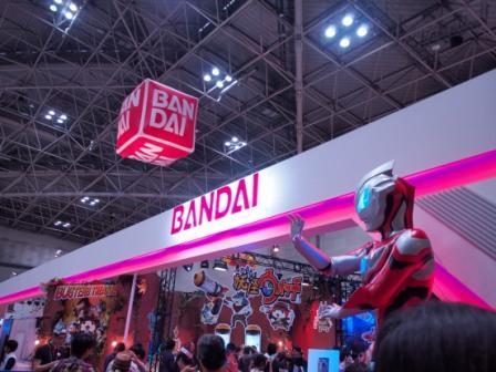 Bandai booth entrance at International Tokyo Toy Show 2017