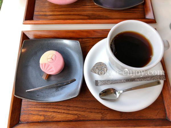 山種美術館 カフェ椿 和菓子