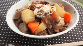 11月の料理クラスは「牛すじ肉」をトロトロに煮込みます