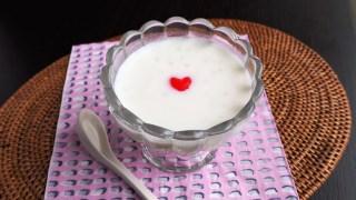 3月のおまけスイーツは「タピオカココナッツミルク」