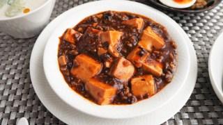 8月の料理は大人の麻婆豆腐☆