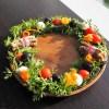 12月の月島クラスは「食べるクリスマスリース」☆
