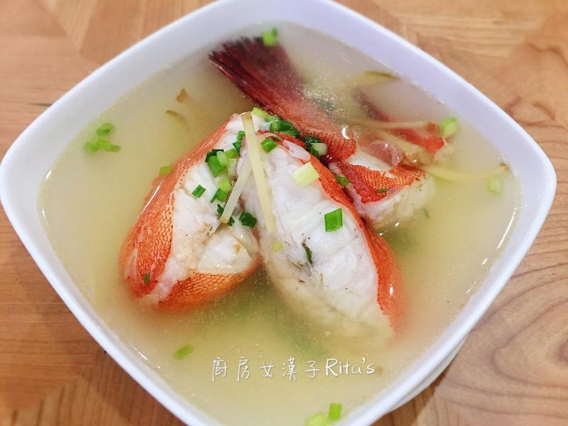 薑絲紅條魚湯 by 廚房女漢子Rita's - 愛料理