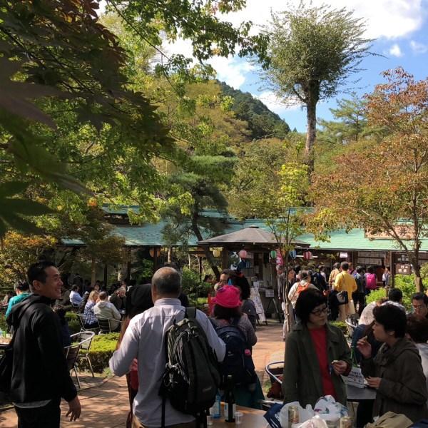 tokyo sake brewery tasting tour garden
