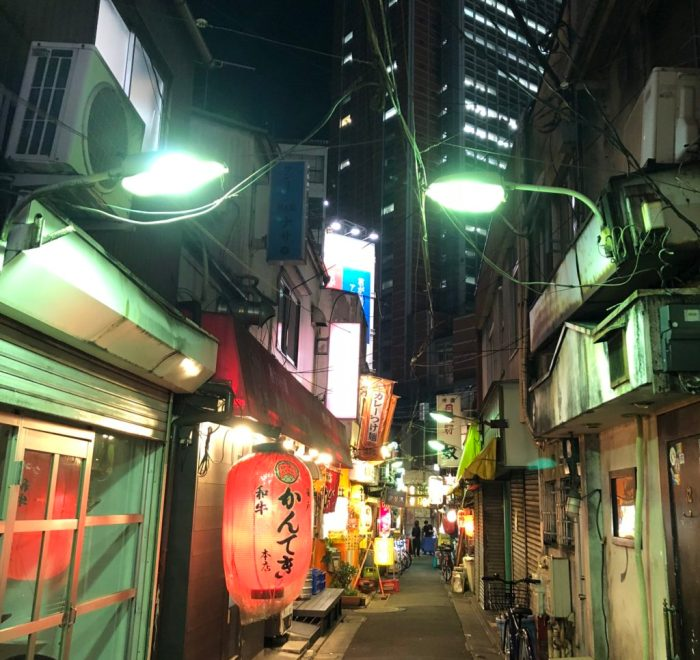sangenjaya alleys and bars