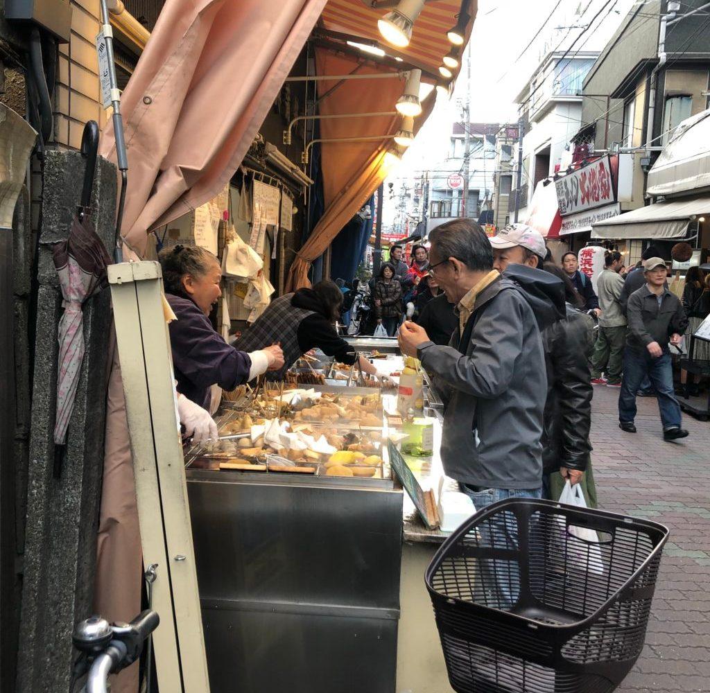 Sunamachi ginza street food oden