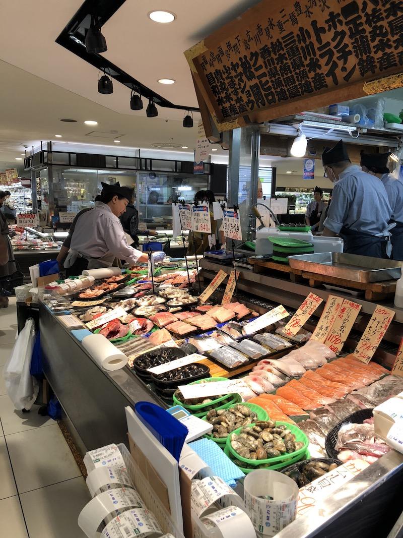 depachika-fish-market