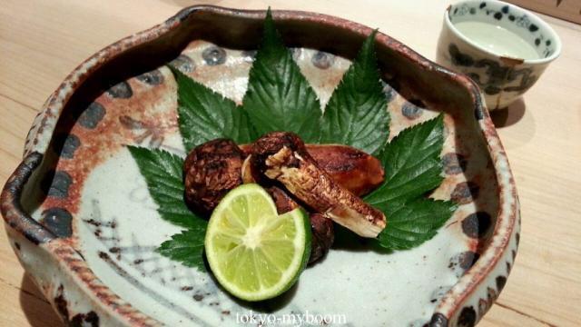 湯島くろぎ焼き松茸