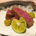 美味しい宮崎牛の牛カツ