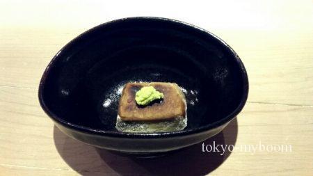 くろぎ焼き胡麻豆腐