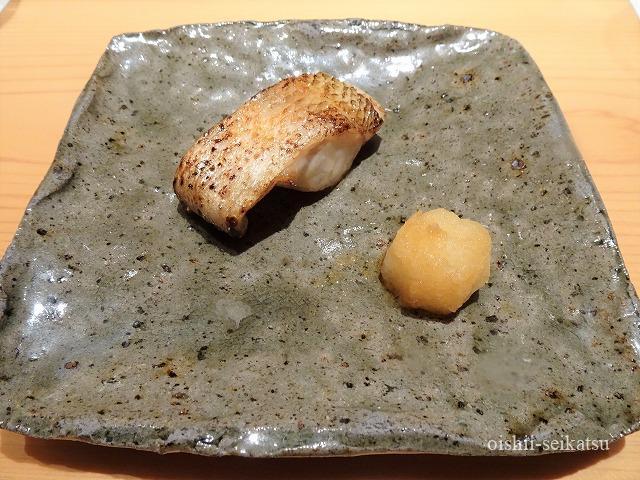 鮨つぼみ太刀魚