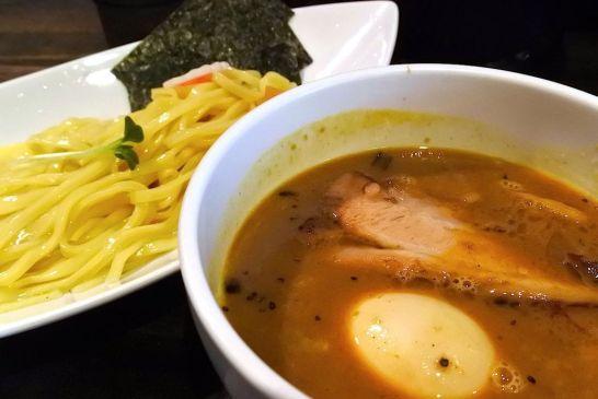 麺を選べるカレー玉子つけ麺(小)
