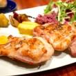 鶏・豚・牛から選べる炭火焼きワンプレートランチ