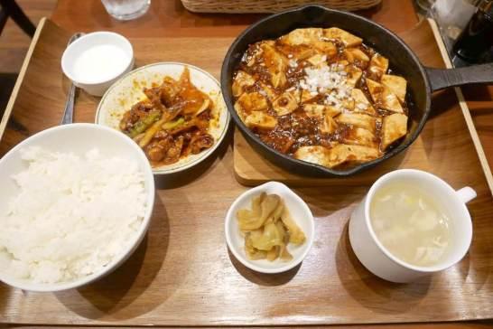 麻婆豆腐&回鍋肉