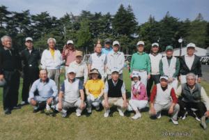 3会合同ゴルフコンペ