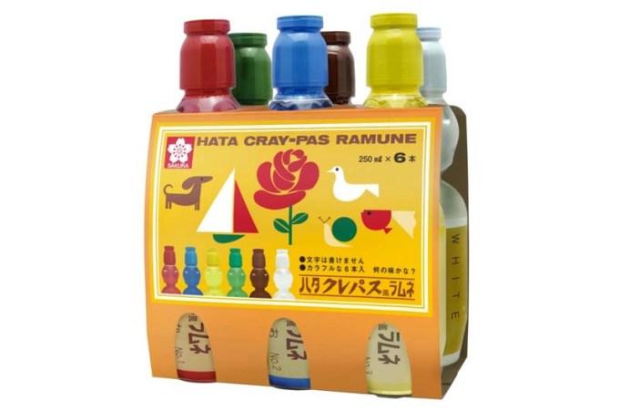 """""""サクラクレパスのラムネ""""子供から大人まで喜ぶ夏の贈り物!クレパス風ラムネが大人気!"""