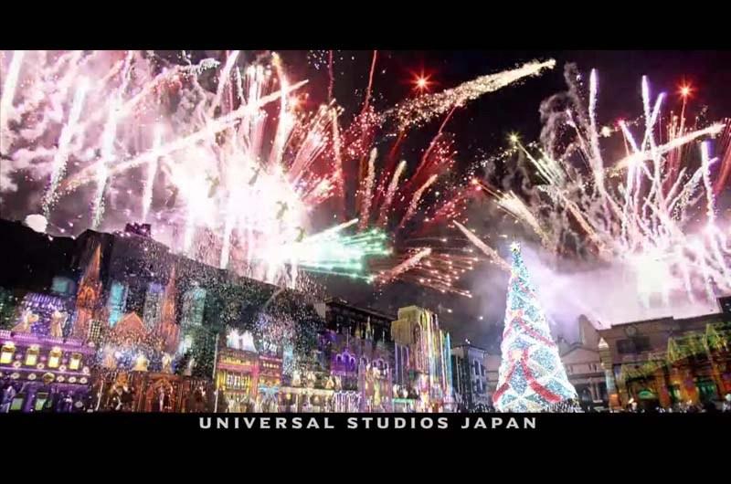 USJユニバーサル・ワンダー・クリスマス2015開催!CMも魅せるUSJのクリスマスイベント