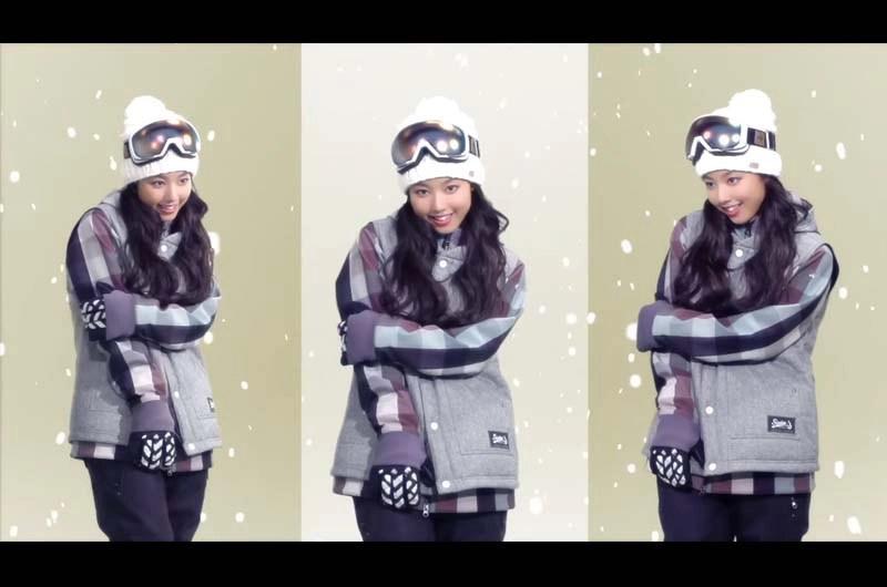 安良波明里you!you!you!ムラサキスポーツCM出演!Snow Wear COLLECTION