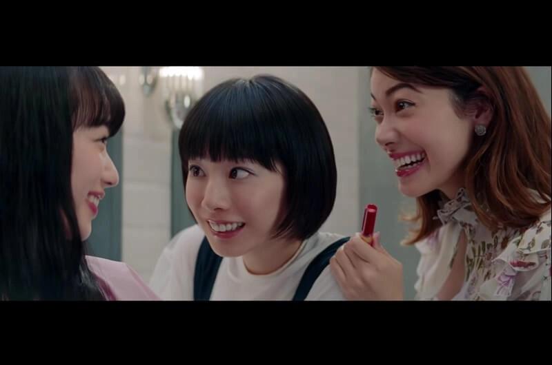 資生堂インテグレート新CMボクササイズをするジム3人の女性は?小松菜奈・森星・夏帆が出演