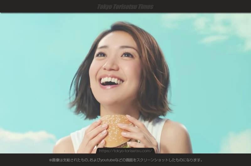 マクドナルドCMビッグマックずっと好きだったの…この女性は?大島優子グランドビッグマック
