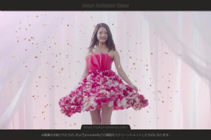 美容全身脱毛専門サロンコロリーCM花のスカートモデルは誰?上田眞央(うえだまお)出演