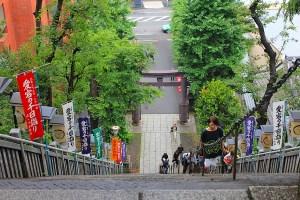 愛宕神社出世の石段