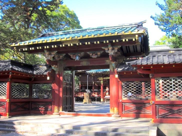 根津神社・唐門と瑞垣