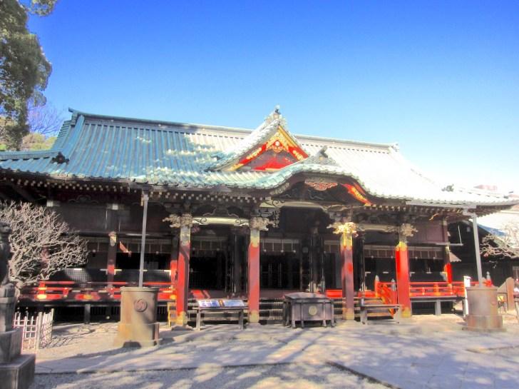 根津神社・拝殿