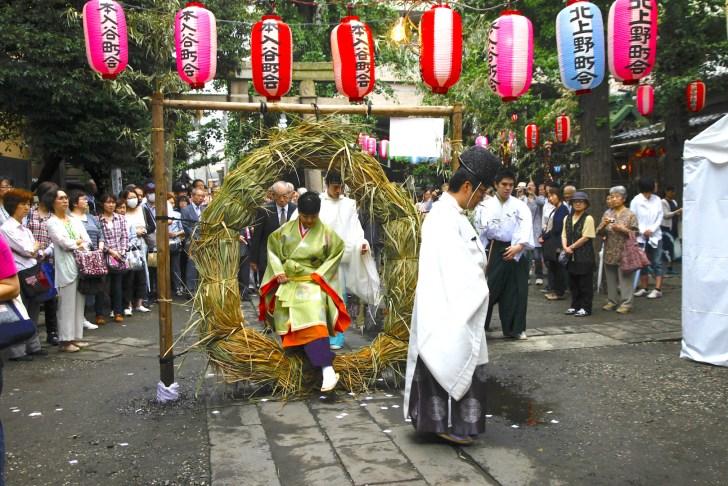 富士浅間神社例祭『お山開き』|小野照崎神社