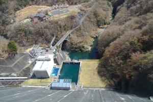 小河内ダム展望塔