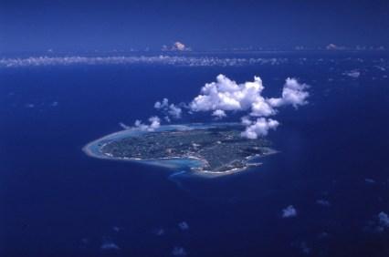 与論島全景