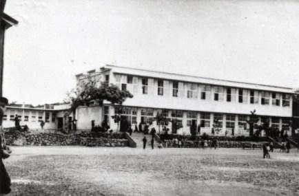 鉄筋校舎(昭和33年)完成
