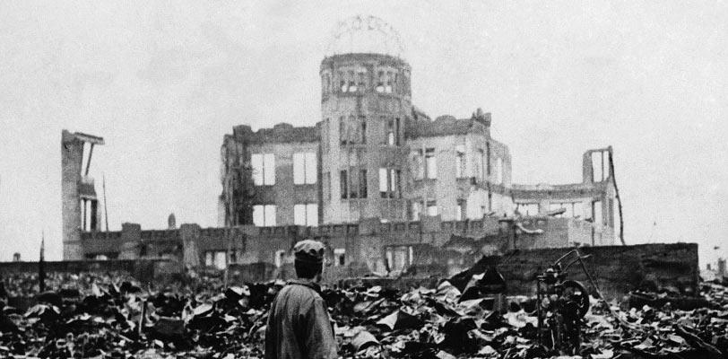 atoombom verwoesting Hiroshima